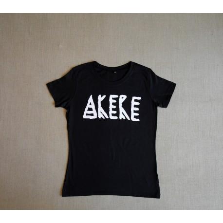 Akere T-Shirt - Akere Schriftzug - Girls