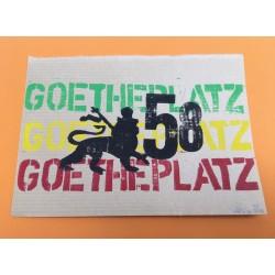 David Pe - Conquering Lion of Goetheplatz - Linoldruck - Ohne Rahmen