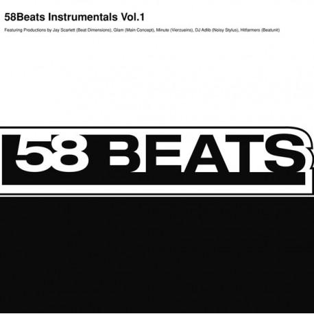 58BEATS Instrumentals Vol.1 - LP