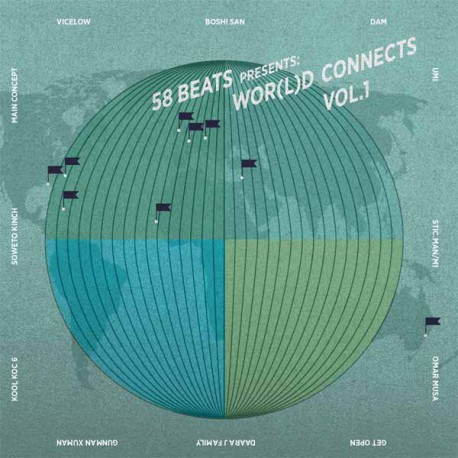 58BEATS PRESENTS: WOR(L)D CONNECTS VOL.1