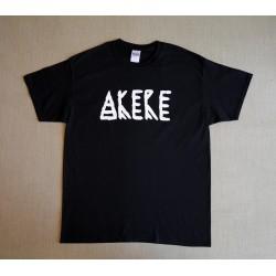 Akere T-Shirt - Akere Schriftzug